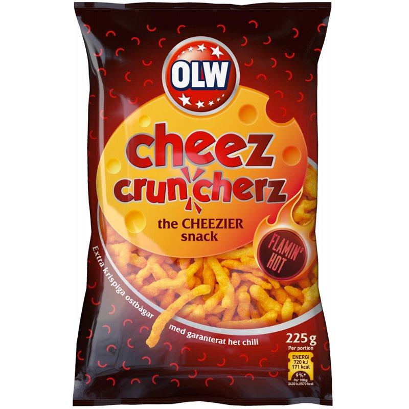 Flamin' Hot Cheez Cruncherz - 43% rabatt