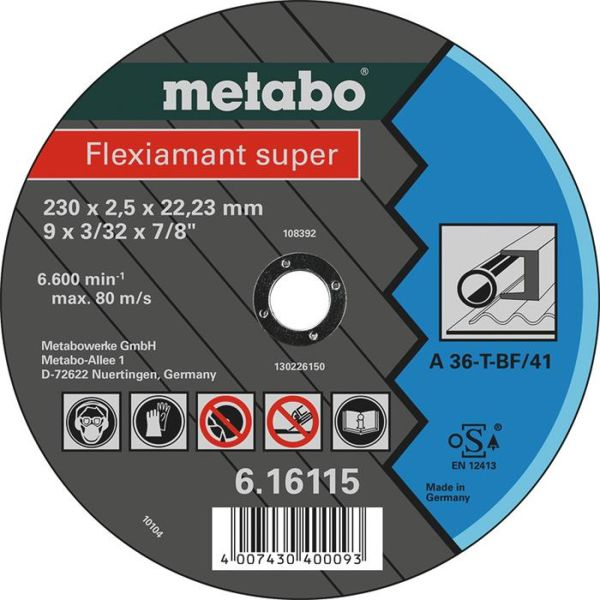 Metabo 616111000 Kappskive