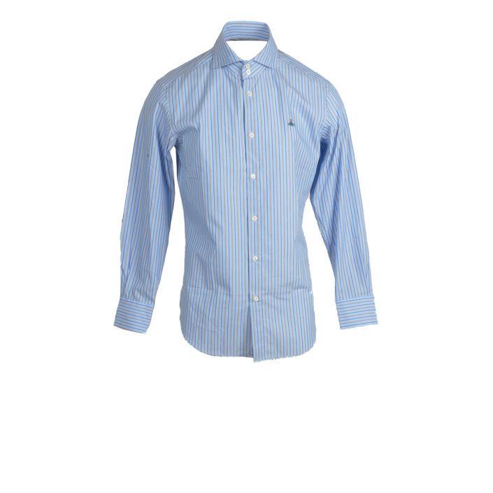 Vivienne Westwood - Vivienne Westwood Men Shirt - light blue 52