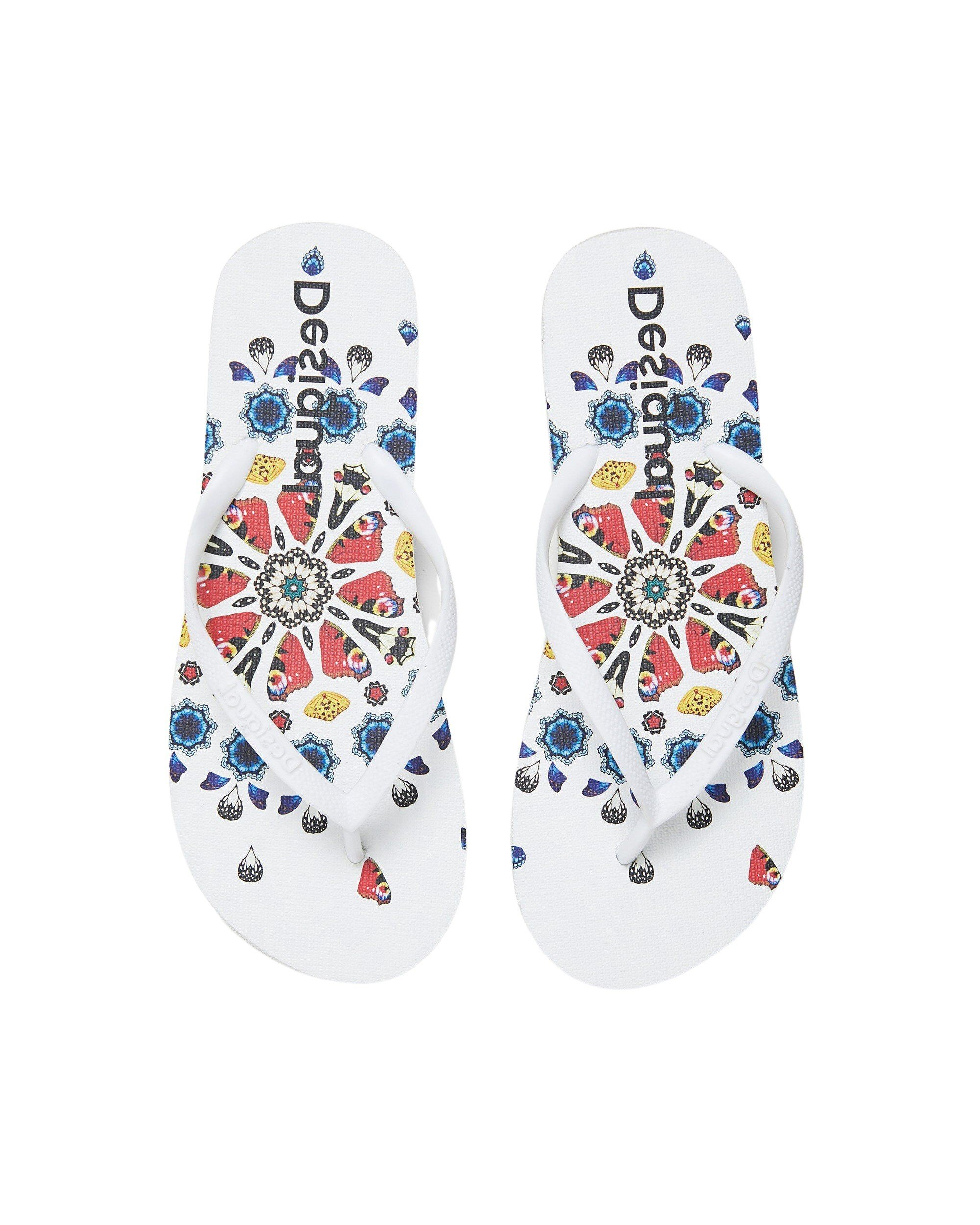 Desigual Women's Slippers Various Colours 240079 - white 37
