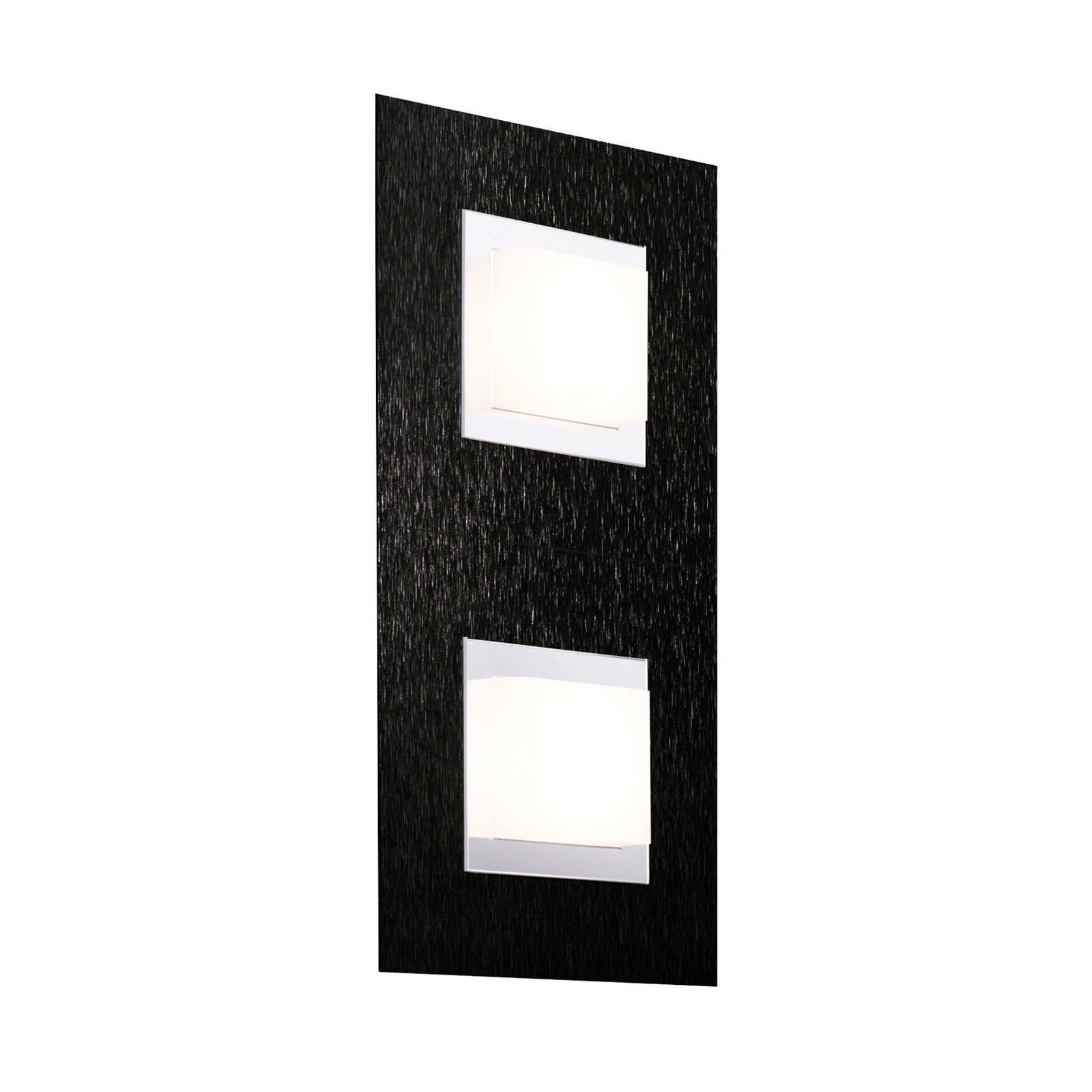 GROSSMANN Basic LED-vegglampe, 2 lyskilder, svart