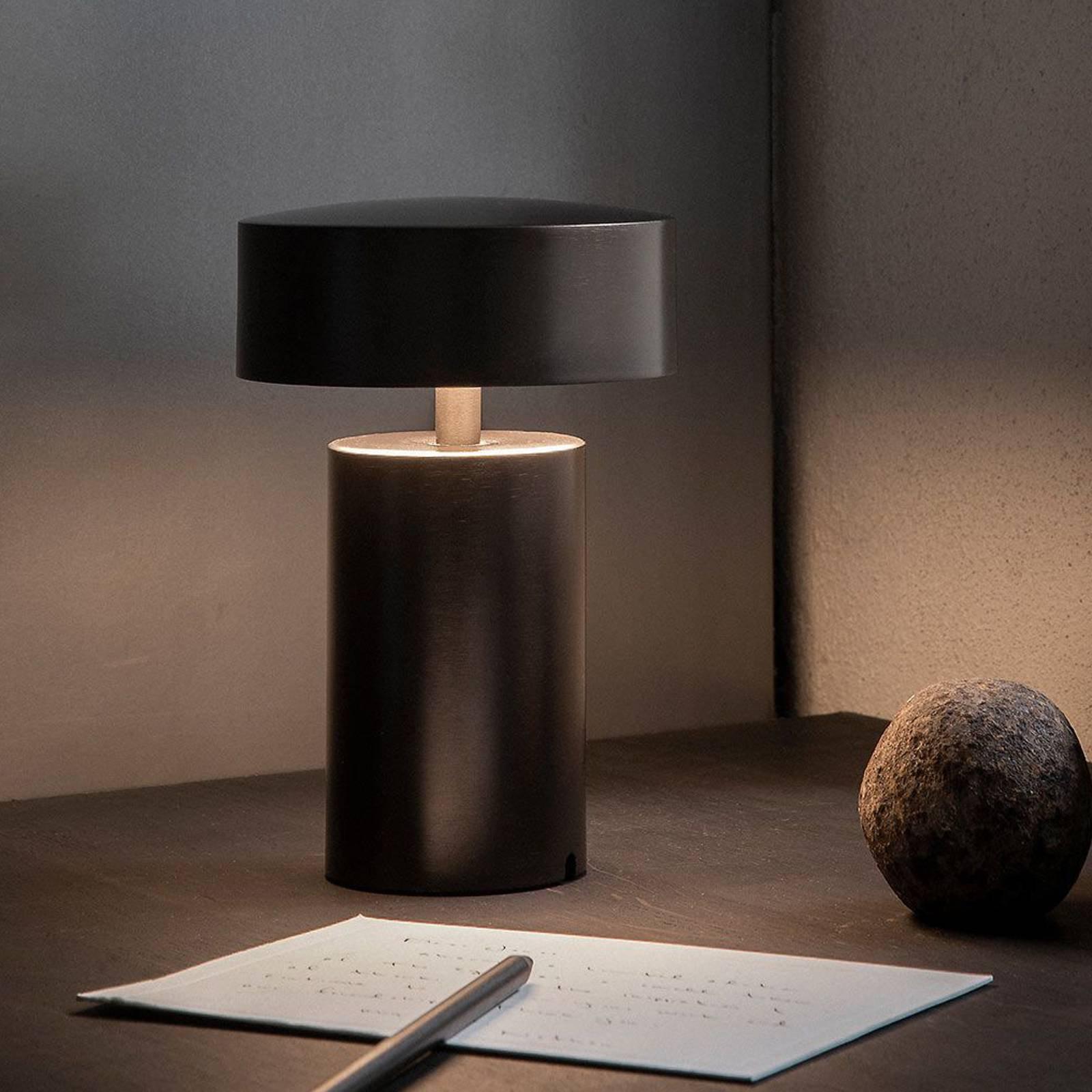 Menu Column LED-bordlampe med oppladbart batteri