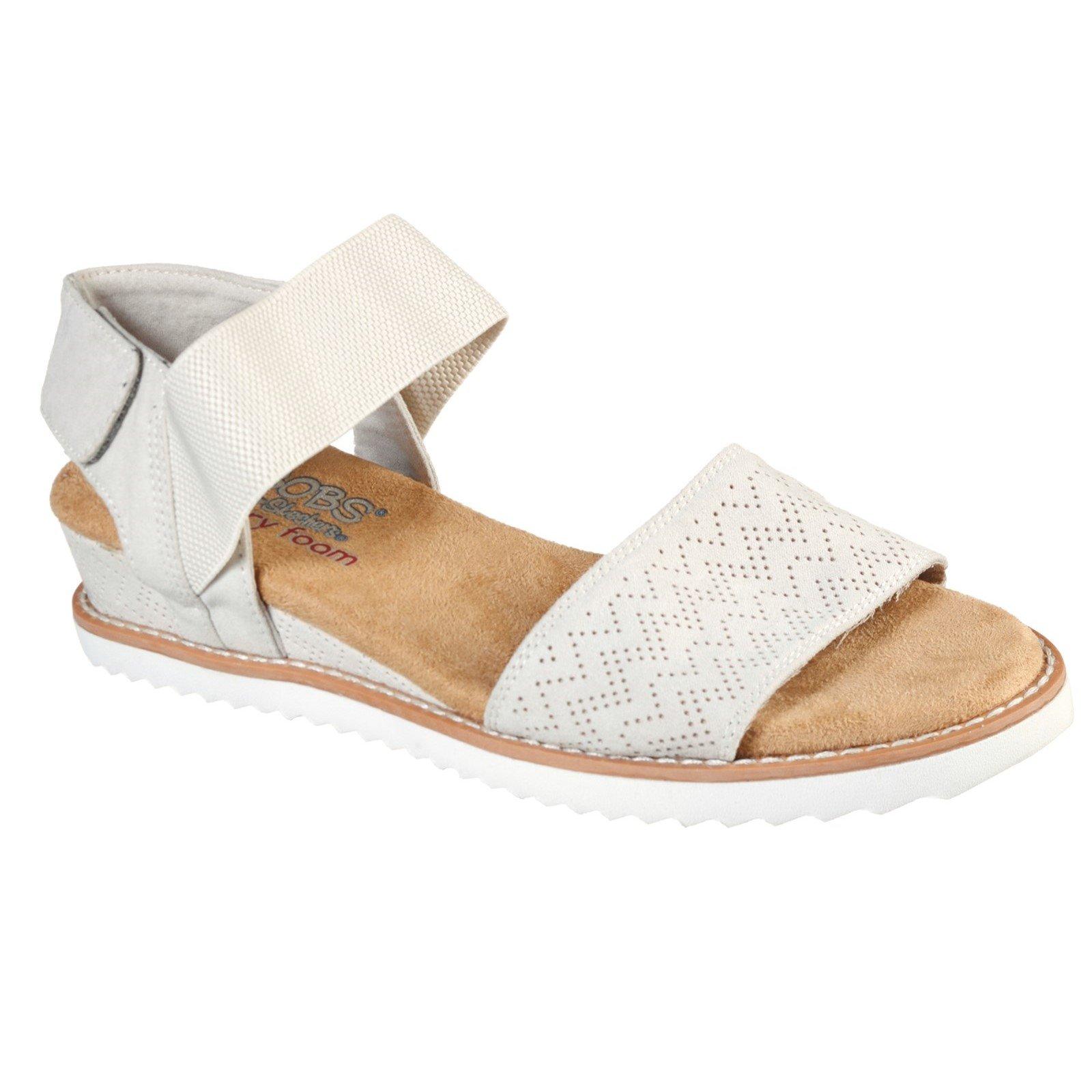Skechers Women's Desert Kiss Sandals White 33120 - Off White 4