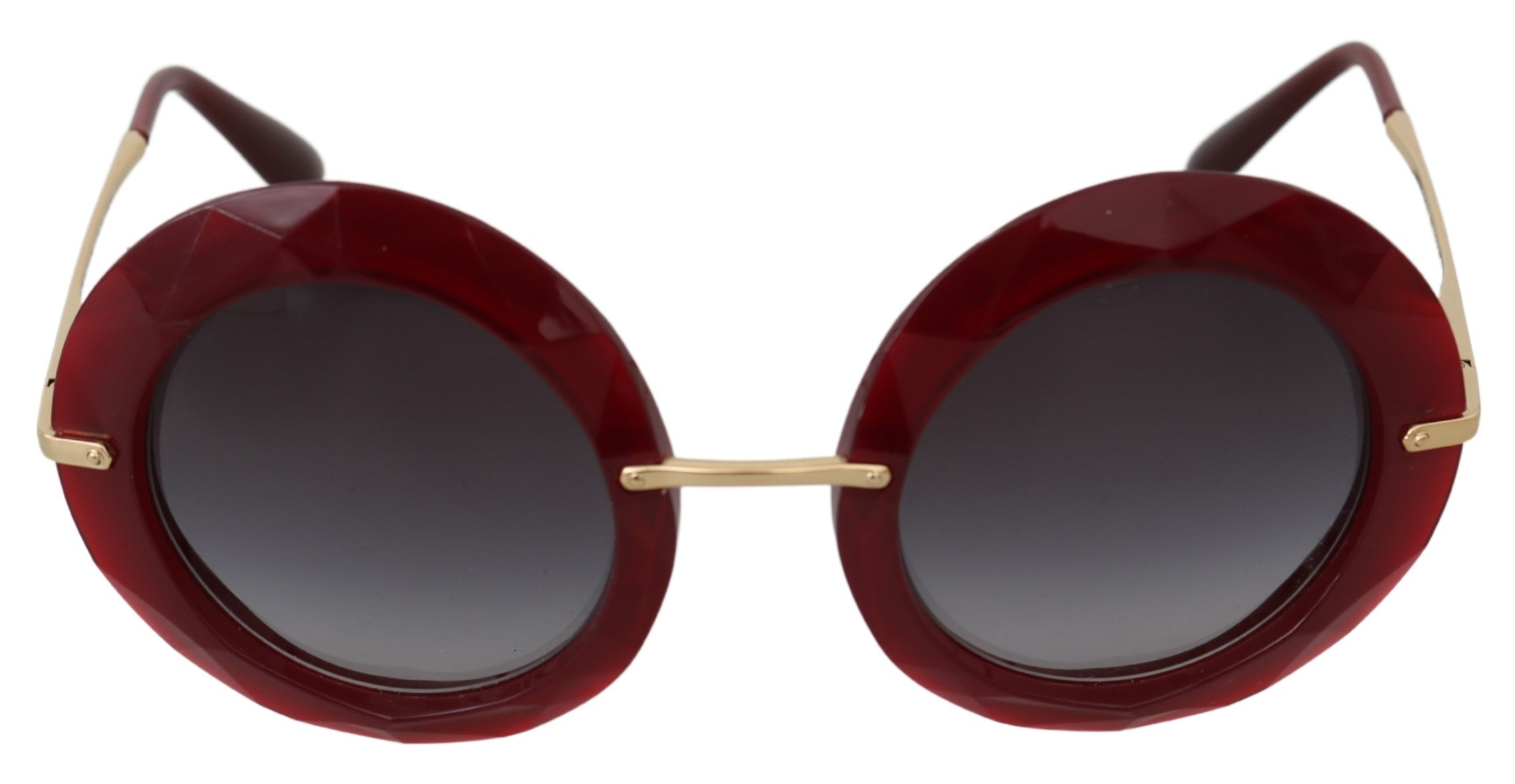 Dolce & Gabbana Women's Round Gradient Logo Sunglasses Gold GLA756