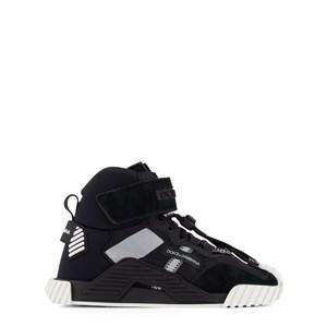 Dolce & Gabbana Logo High-Top Sneakers Svarta 30 (UK 11.5)