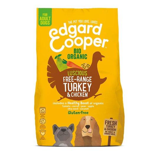 Edgard & Cooper Dog Ekologisk Kalkon & Kyckling (2,5 kg)