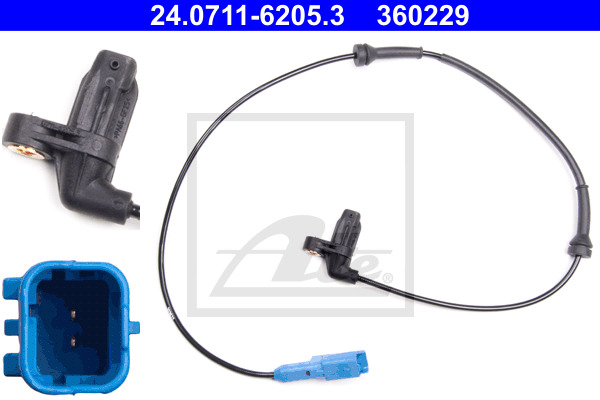 ABS-anturi ATE 24.0711-6205.3