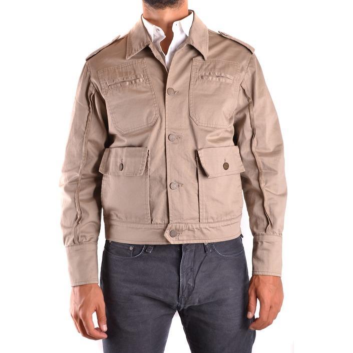 Daniele Alessandrini Men's Jacket Beige 186735 - beige 48