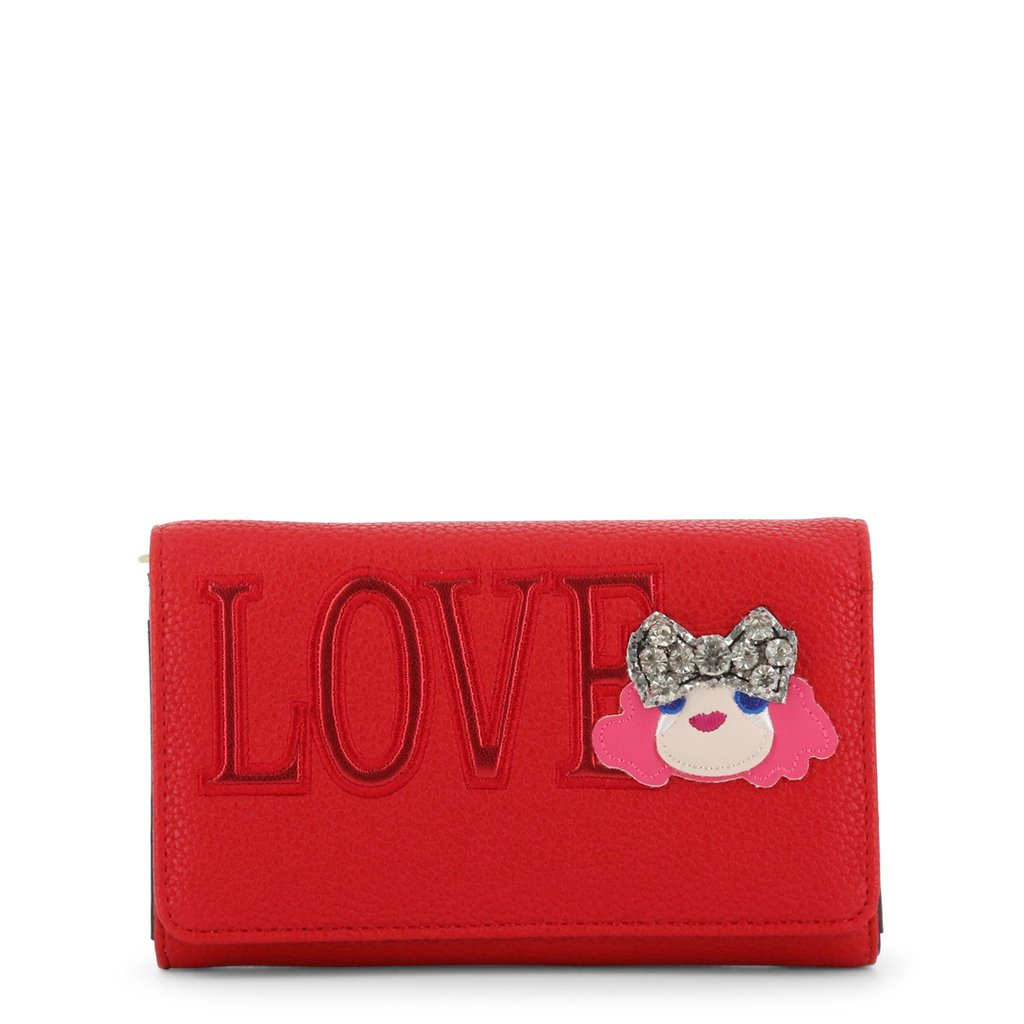 Love Moschino Women's Clutch Bag Various Colours JC5652PP07KH - red NOSIZE