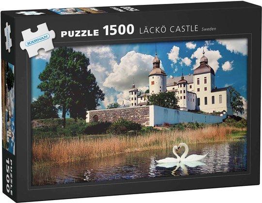 Kärnan Läckö Slott Puslespill 1500 Brikker