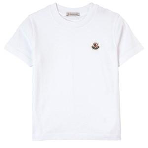 Moncler Logo T-shirt Vit 4 år