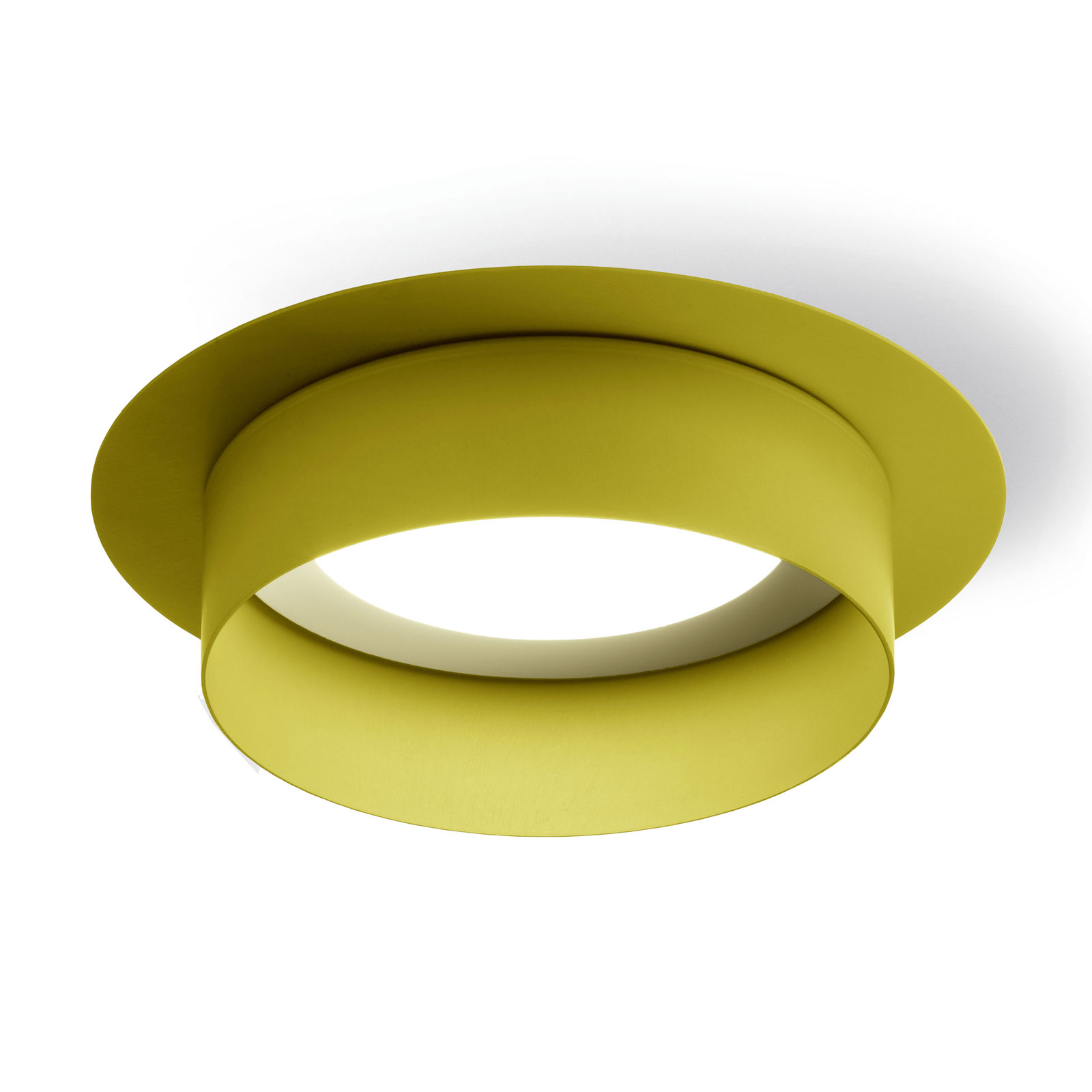 Modo Luce Hammer kattovalaisin, Ø 18 cm, sitruuna