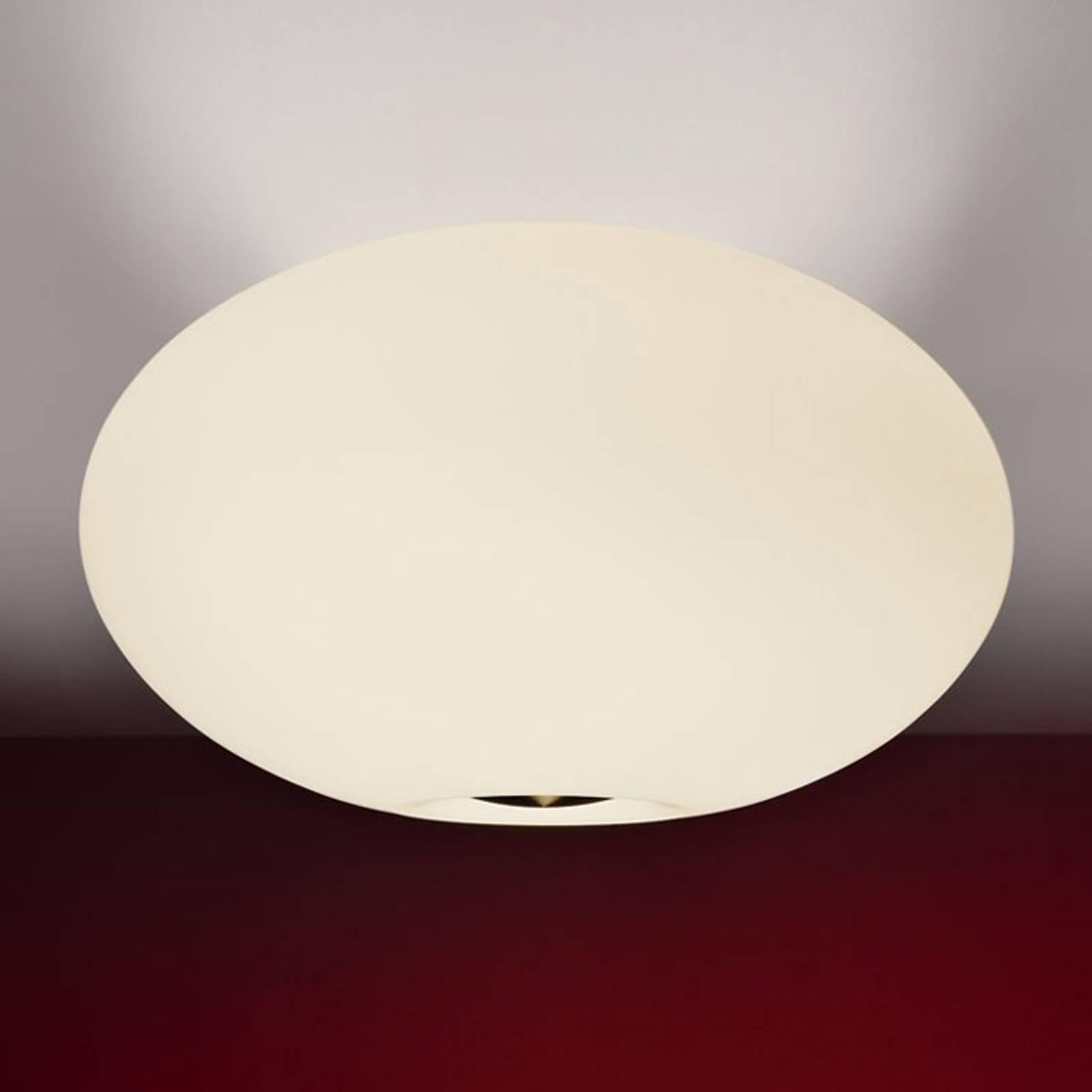 Kaunis AIH-kattovalaisin, 38 cm, matta kerma