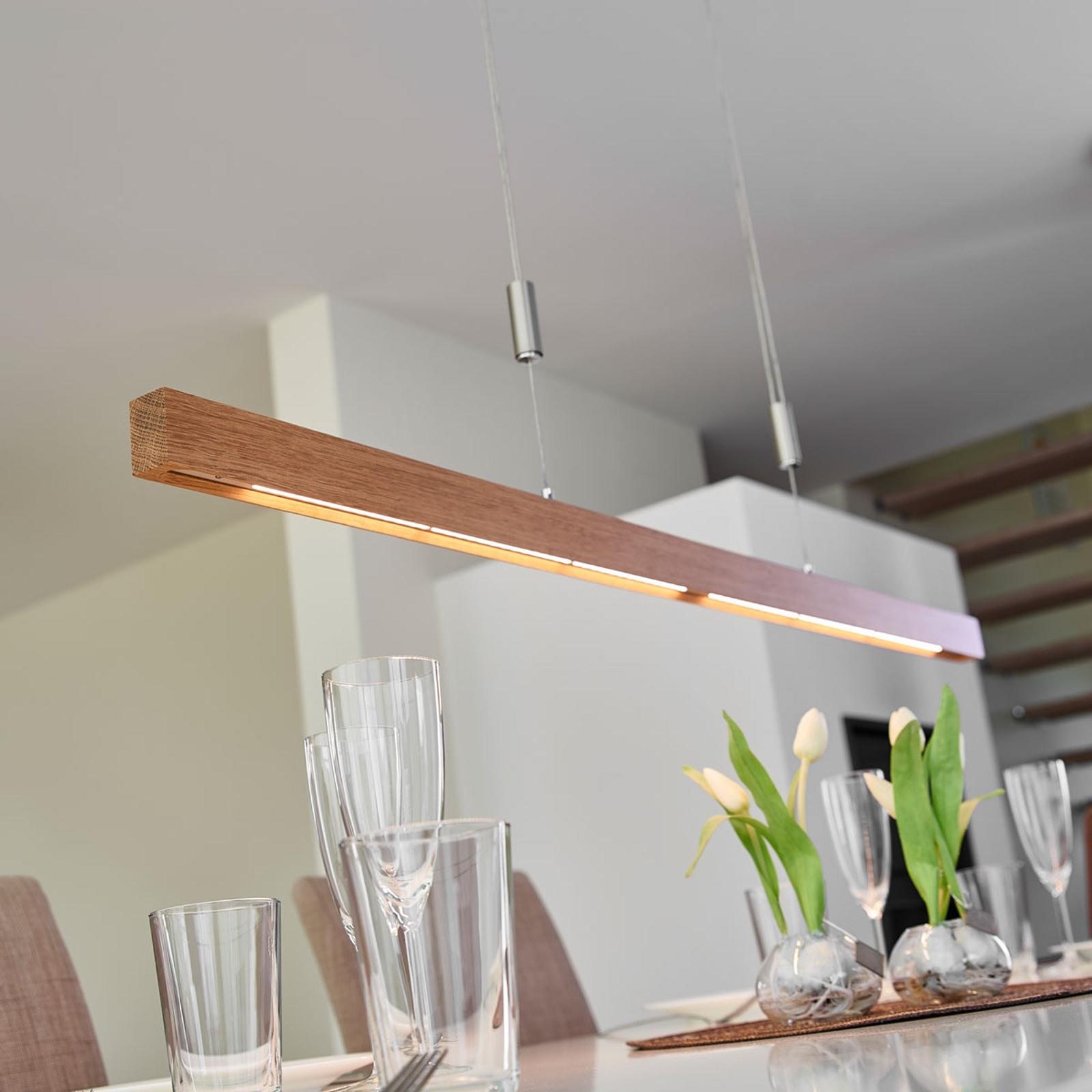 LED-tankoriippuvalaisin Nora tammea, 118 cm