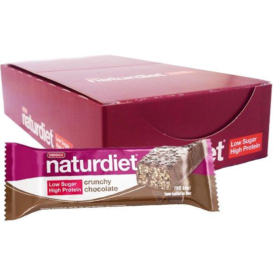 "Hel Låda Mealbars ""Crunchy Chocolate"" 18 x 50g - 39% rabatt"