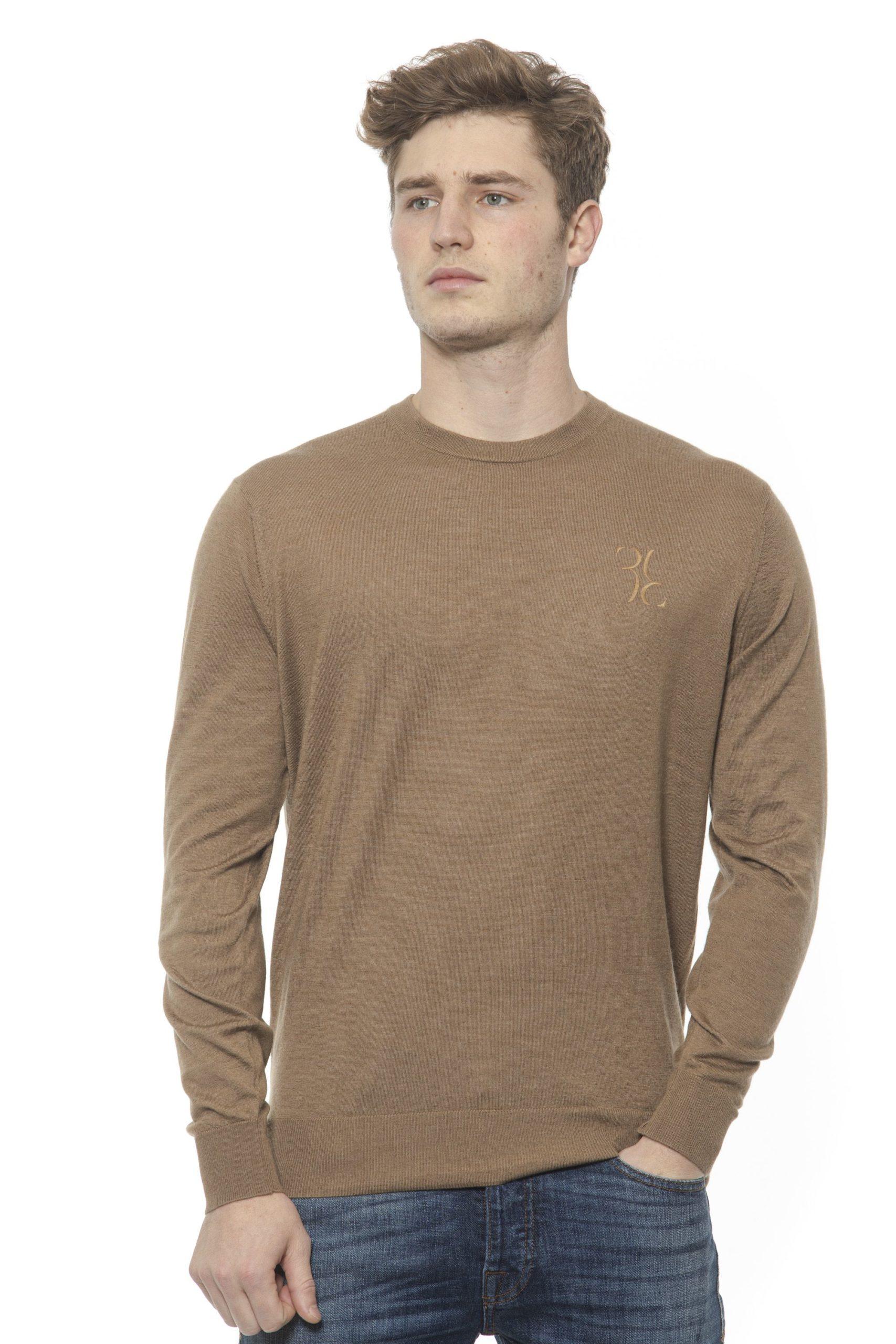 Billionaire Italian Couture Men's Tabacco Sweater Beige BI1313536 - XL