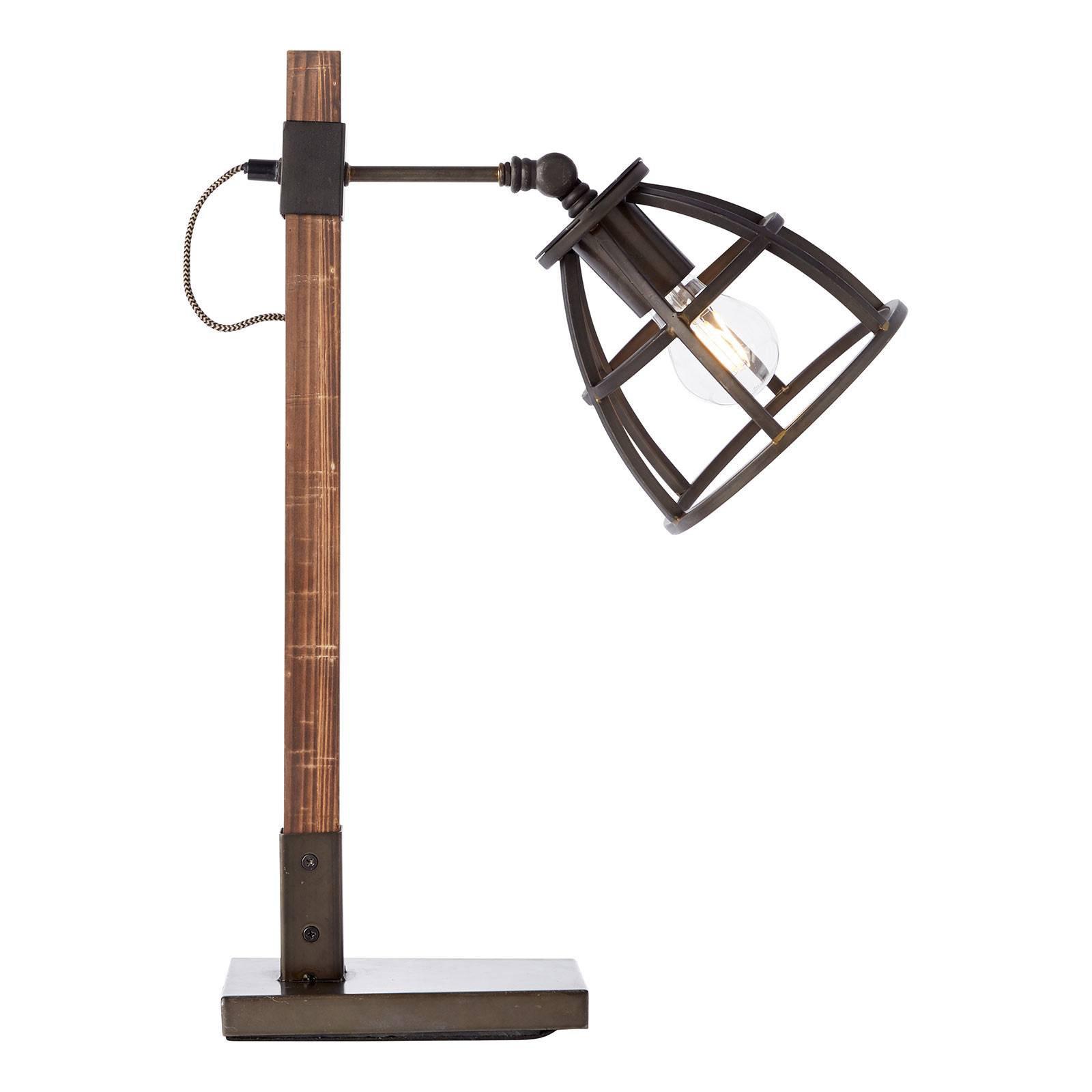 Bordlampe Matrix med burskjerm