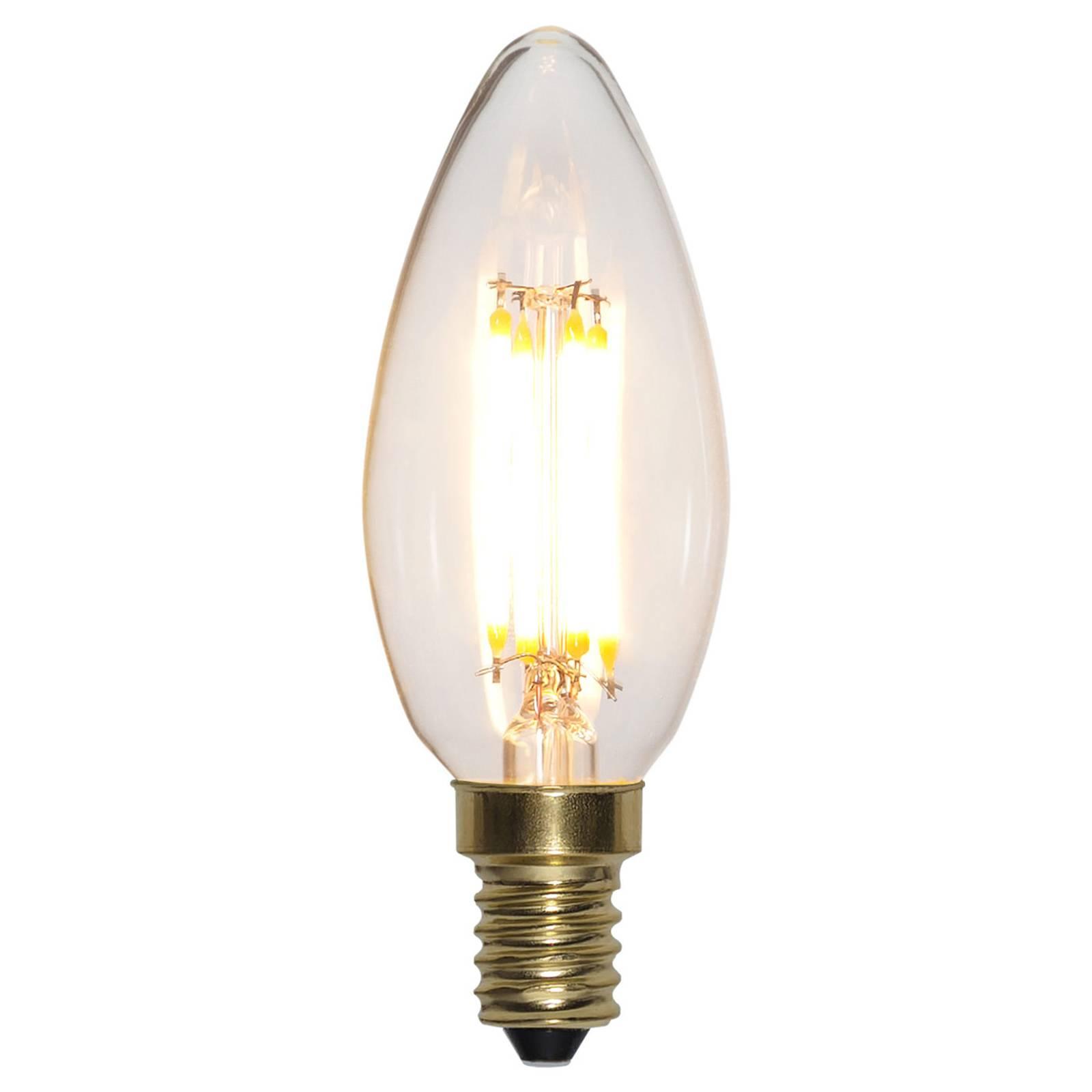LED-kynttilä E14 4W Soft Glow 2100K 3-Step-himmen
