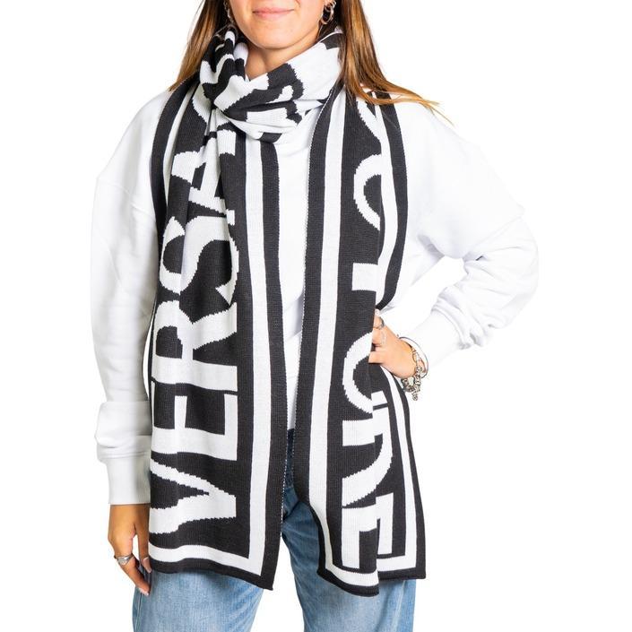 Versace Jeans Couture - Versace Jeans Couture Women Scarve - black UNICA