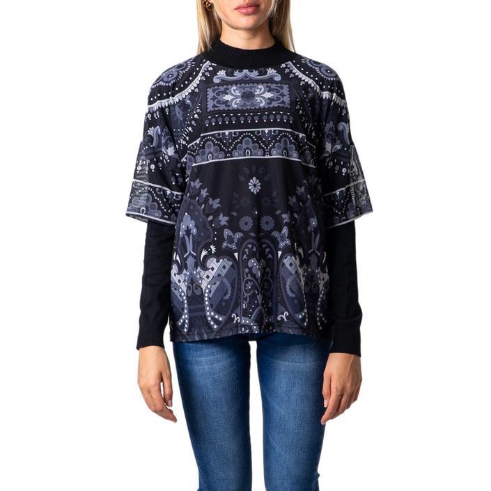 Desigual Women's Sweatshirt Black 176606 - black S