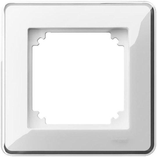 Schneider Electric Exxact Design Kehys läpinäkyvä, koristeellinen upotus 1-lokeroinen