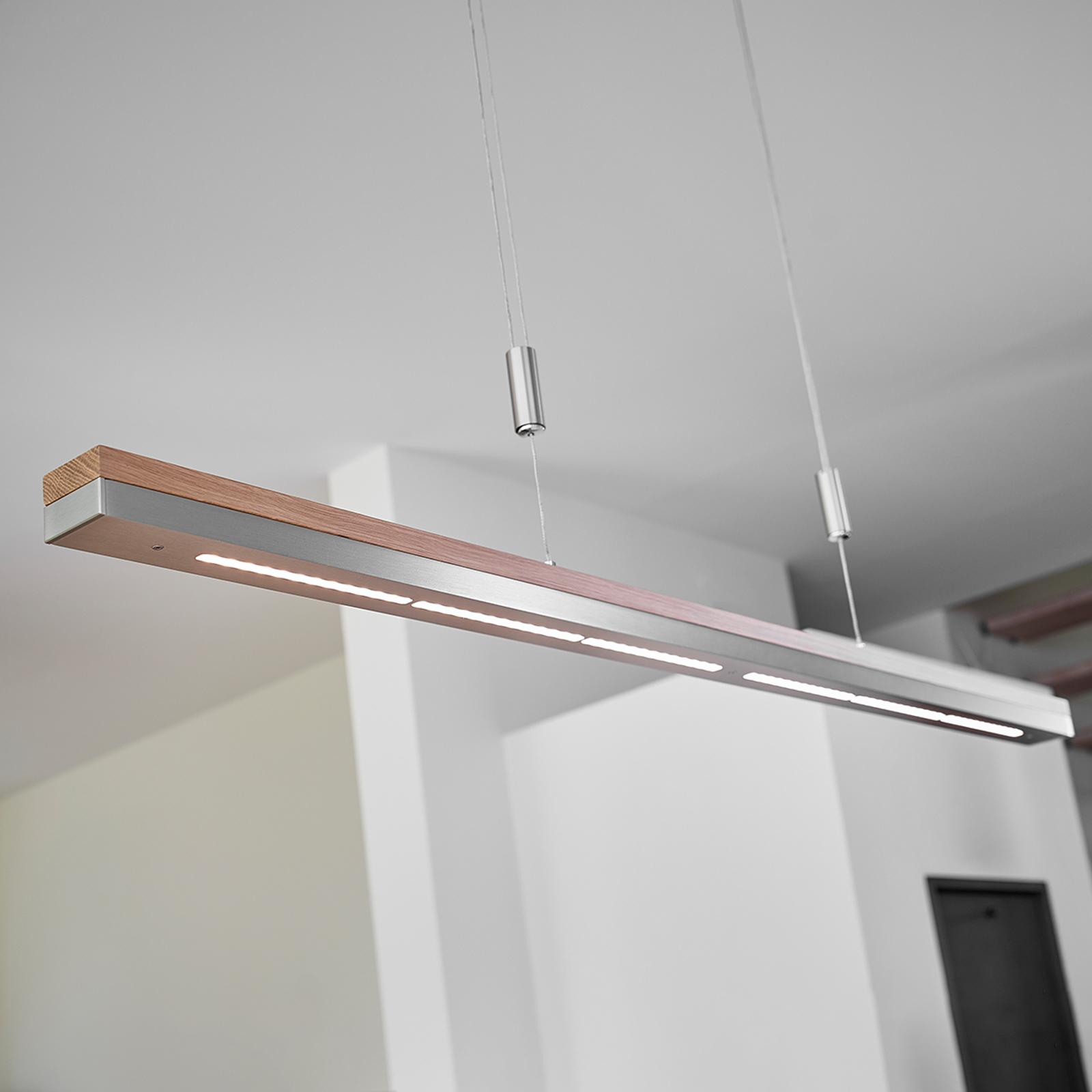 LED-riippuvalaisin Elna, himmennettävä, 118 cm