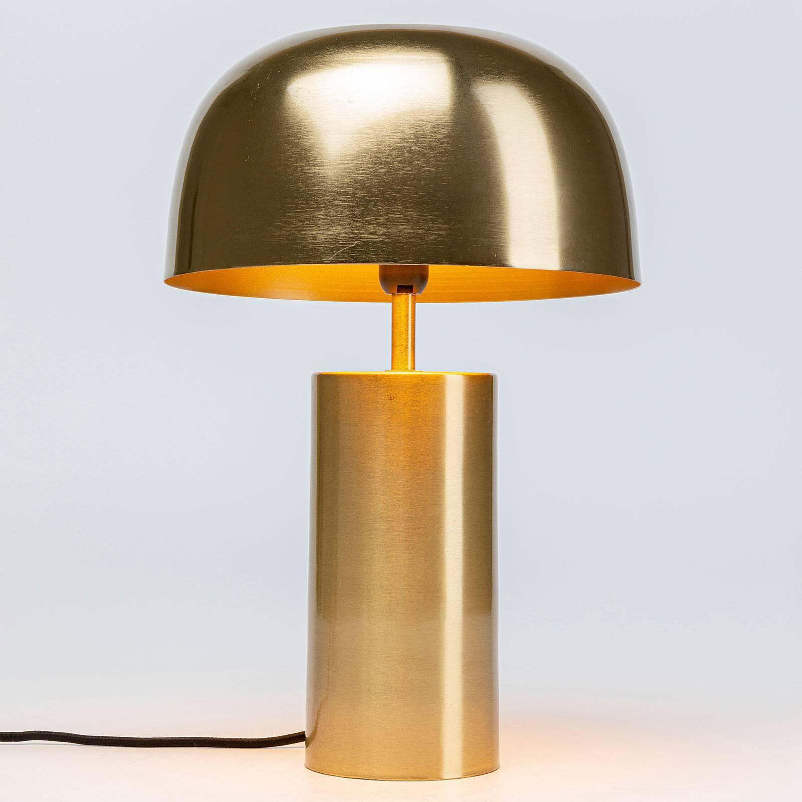 KARE Loungy Gold bordlampe, gull