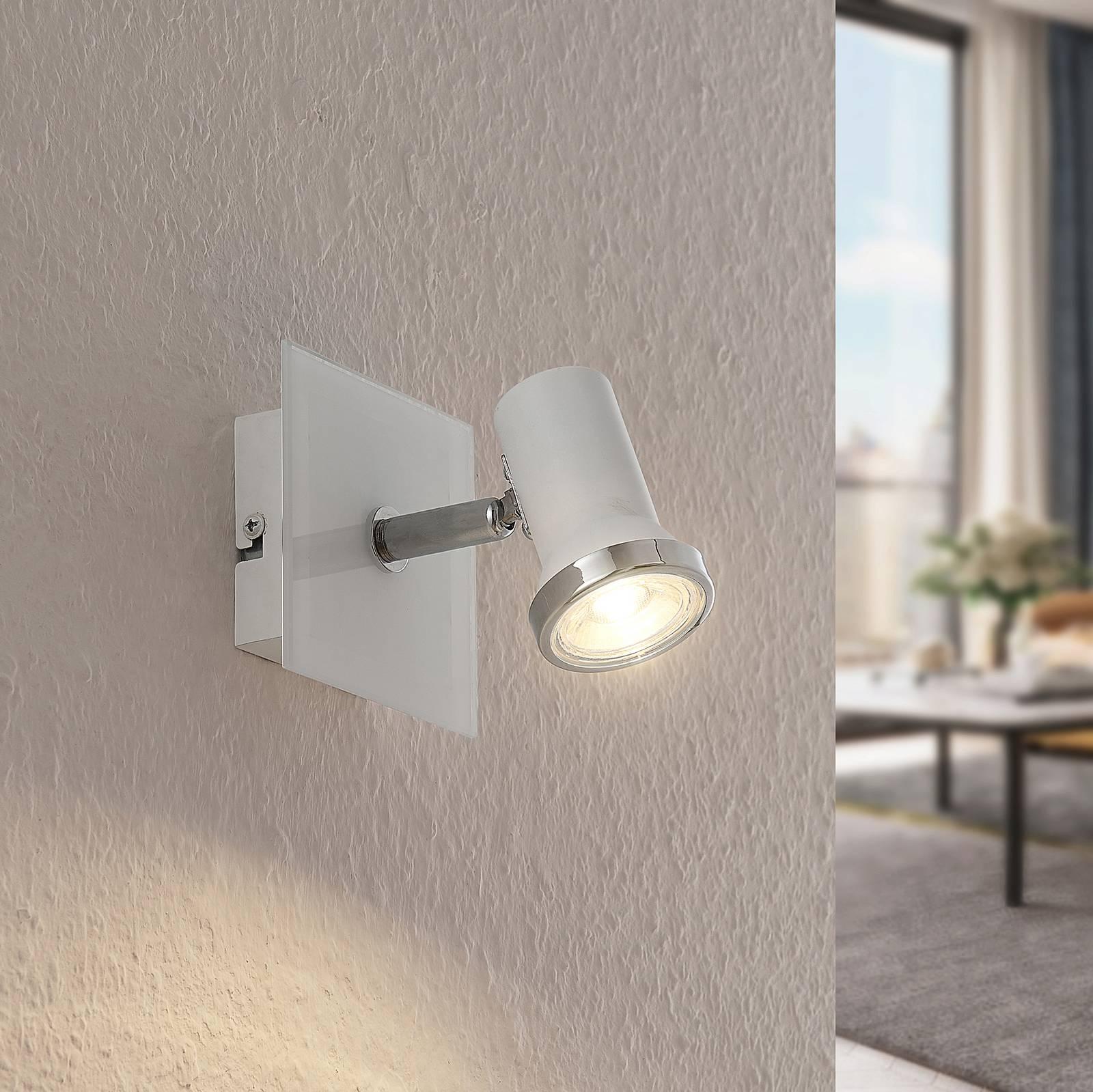 Lindby Marvolo -seinälamppu valkoinen 1-lamppuinen