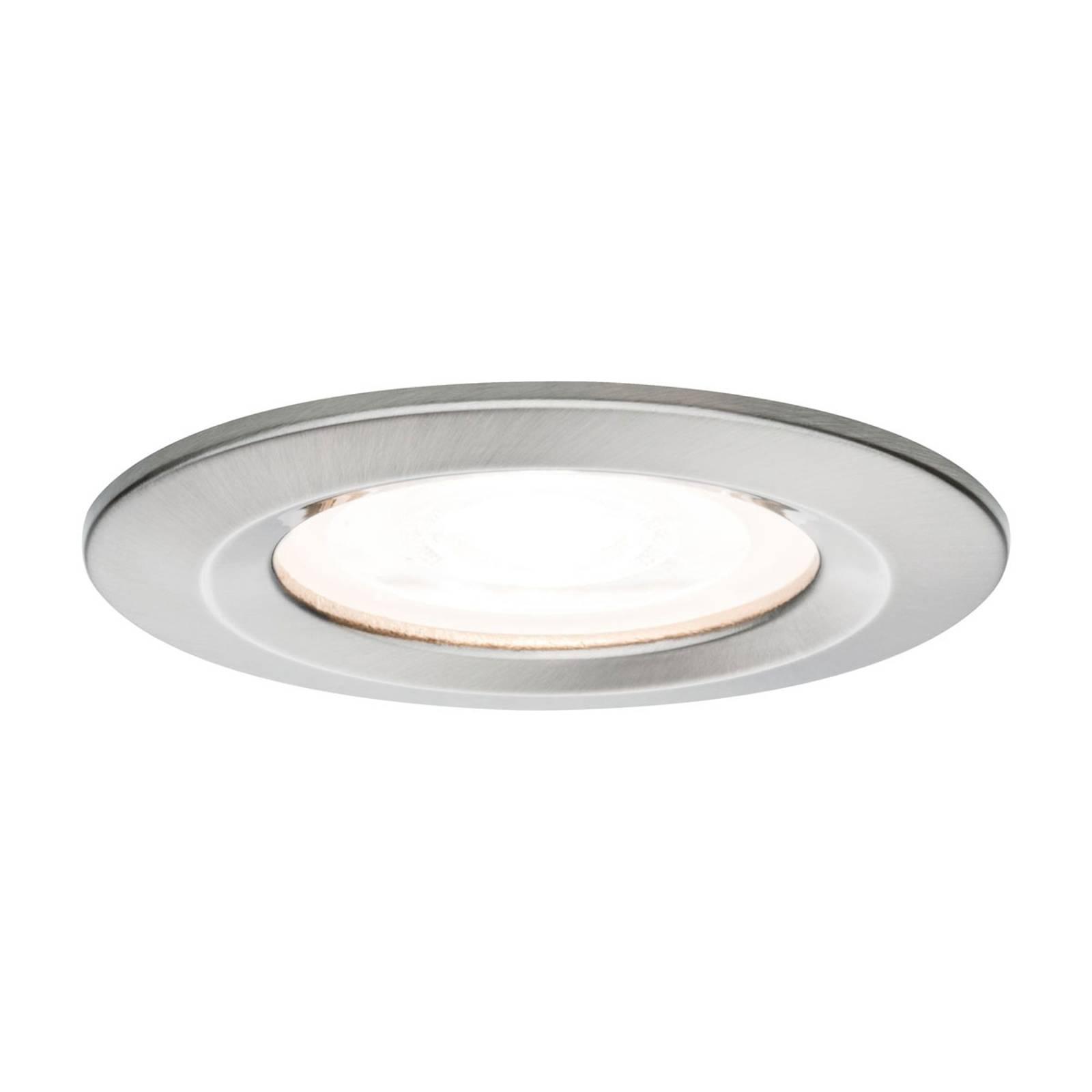 Paulmann LED-spotti Nova pyöreä, IP44, rauta