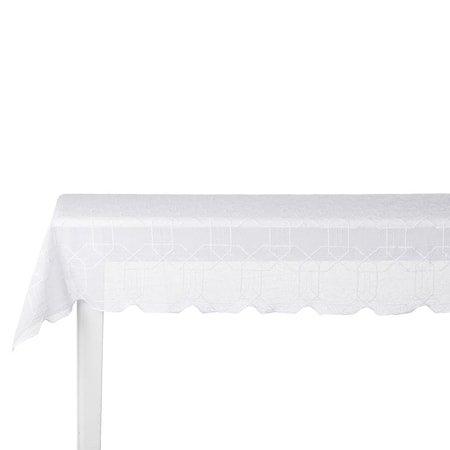 Bordduk Ginta 220x160 cm Hvit