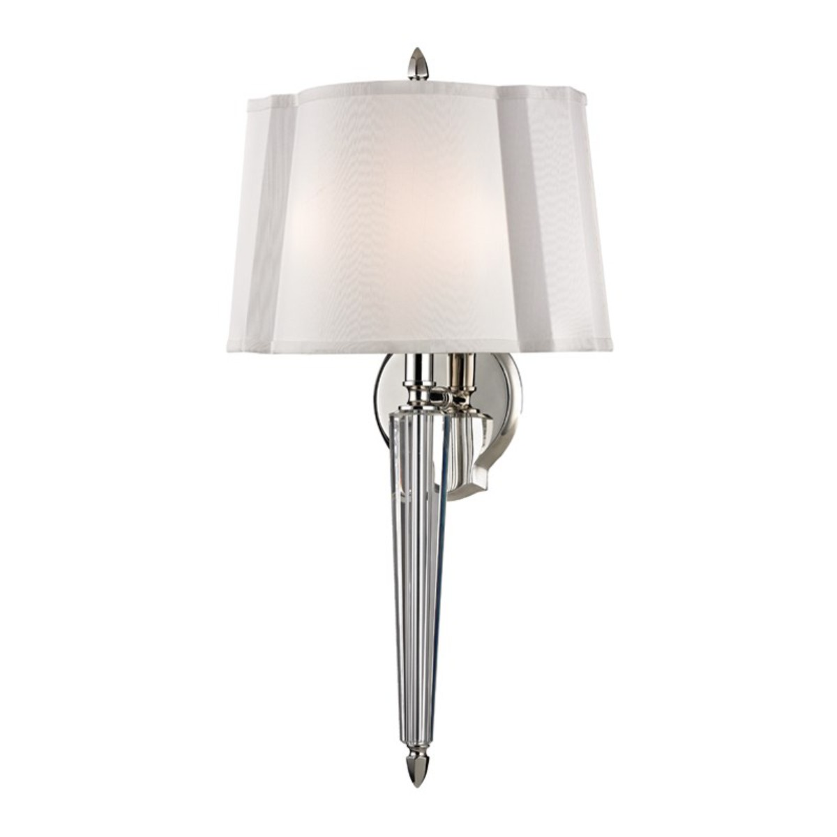 Hudson Valley I Oyster Bay Wall Sconce I Polished Nickel