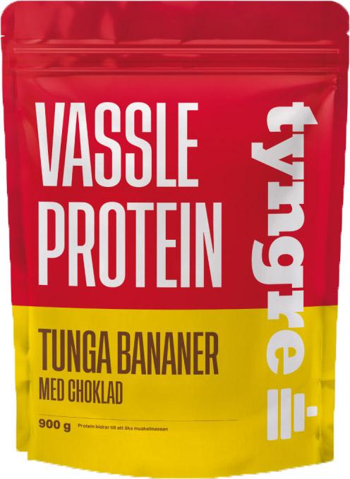 Tyngre Vassleprotein - Tunga Bananer 900g