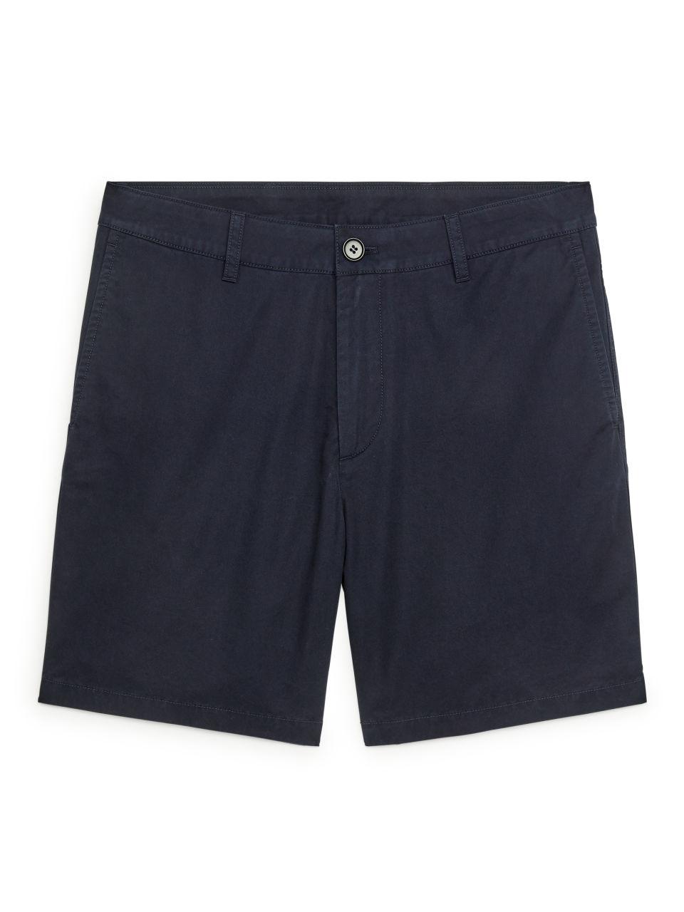 Cotton Shorts - Blue