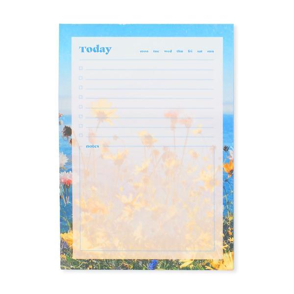 Coastal Blooms A6 Notepad