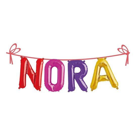 Ballonggirlang Folie Namn - Nora