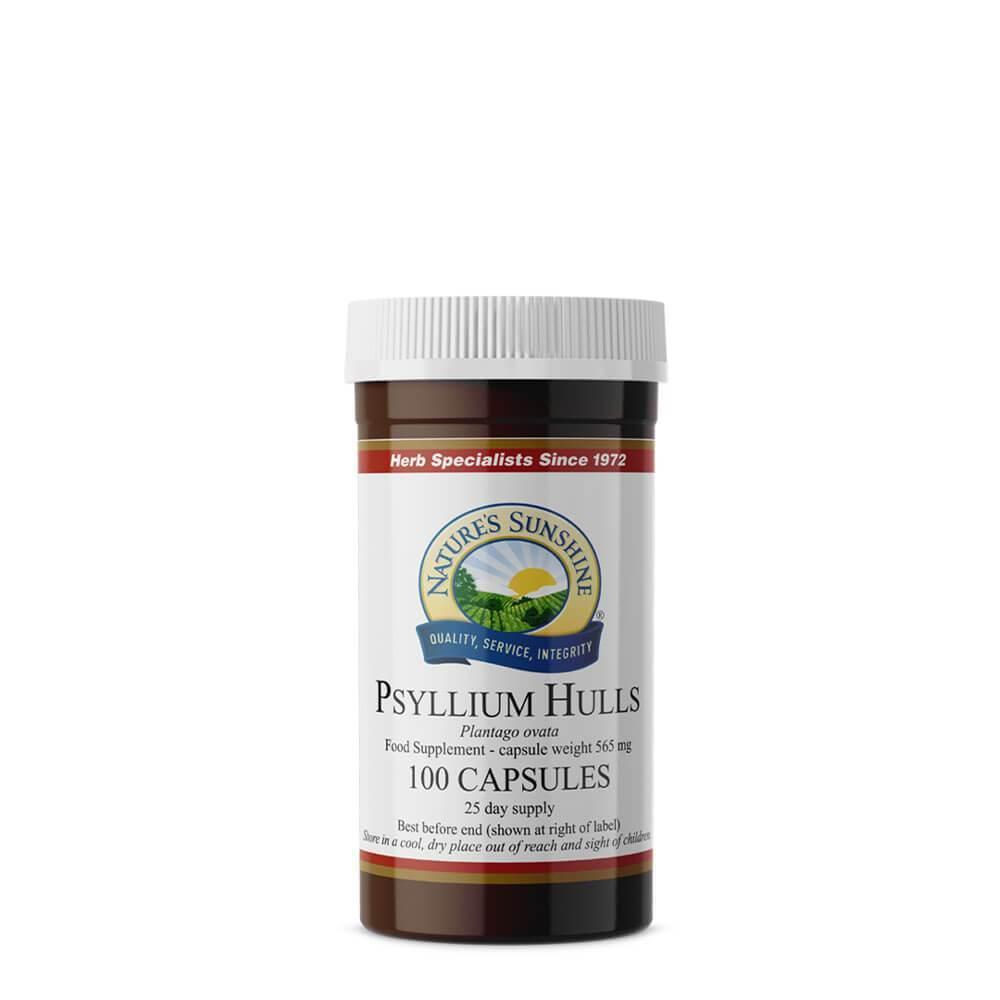 Psyllium Hulls (100 Capsules)