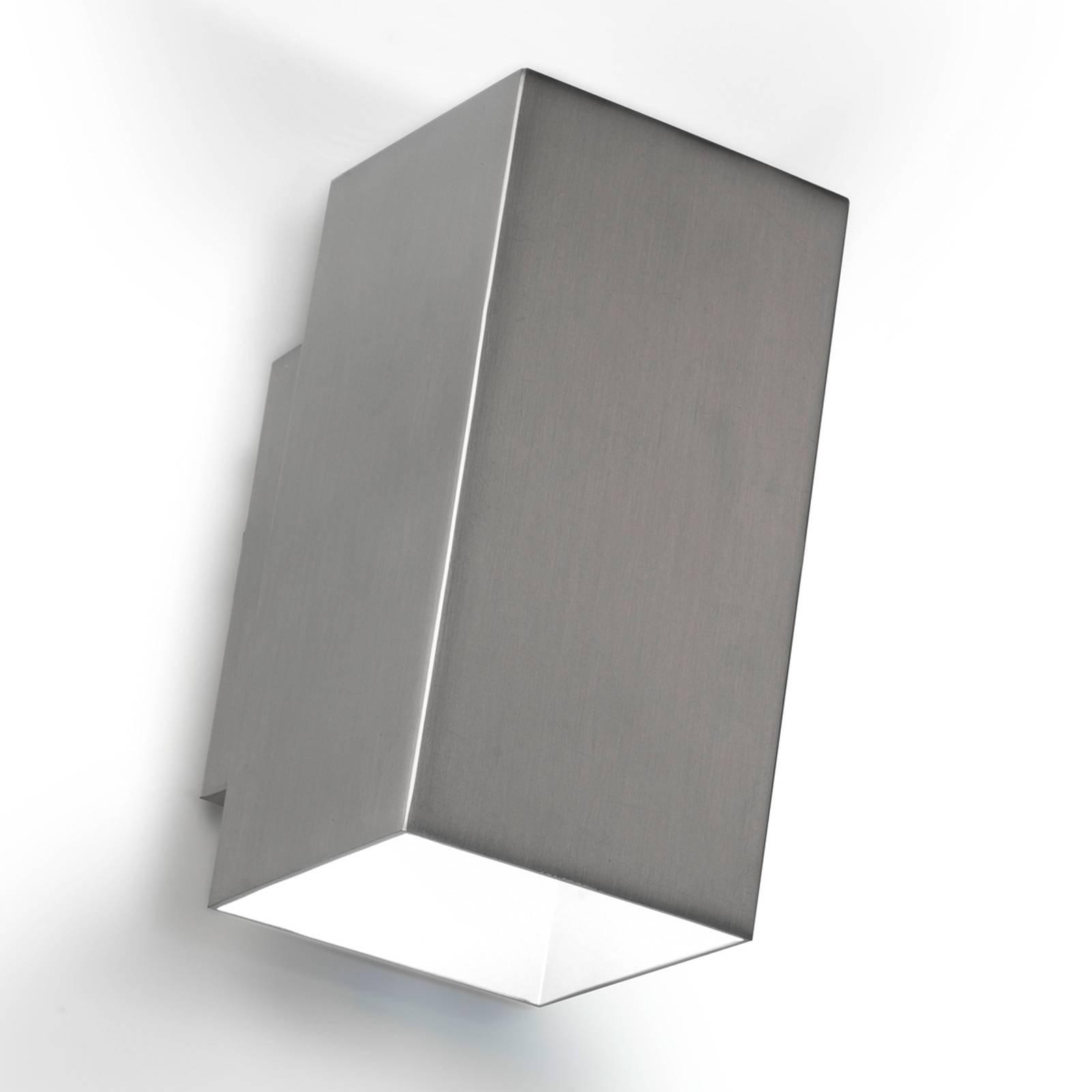 Up-down-vegglampe Basic LED, nikkel