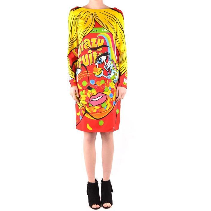 Moschino Women's Dress Multicolor 166481 - multicolor 40
