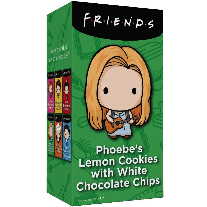 Friends Cookies - Phoebe's Lemon White Chocolate Chip 150g