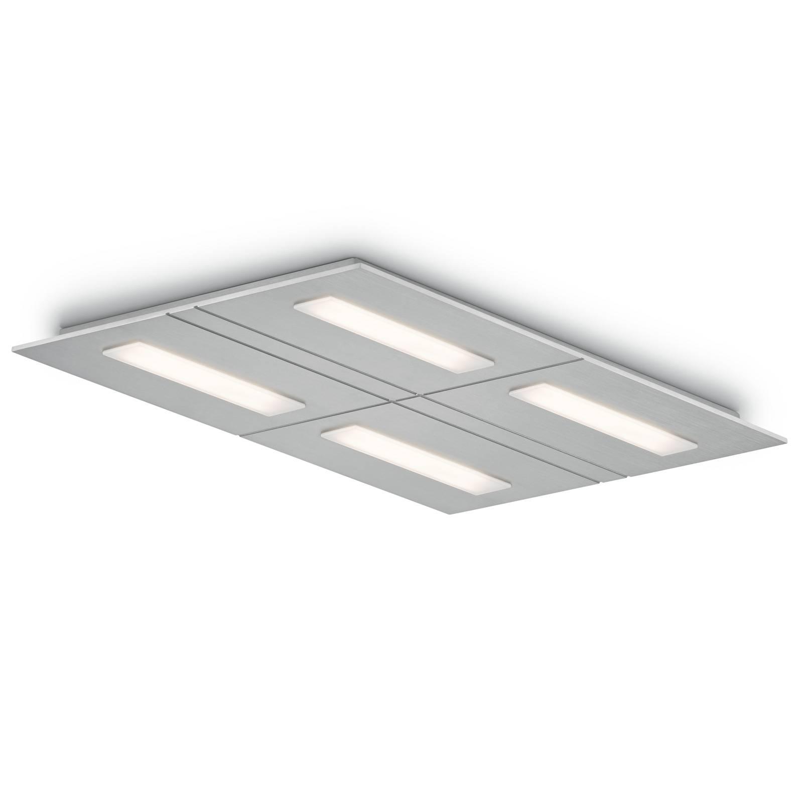 LED-kattovalaisin Sina-4, dim-to-warm 4-lamppuinen