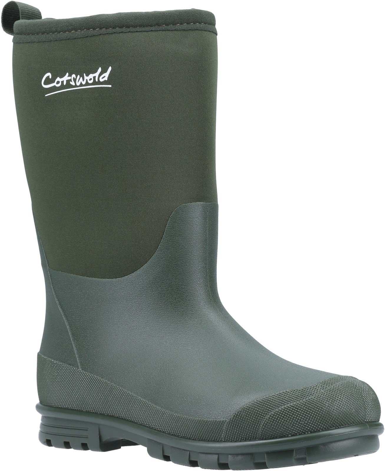 Cotswold Kids Hilly Neoprene Wellington Boot Various Colours 31492 - Green 11