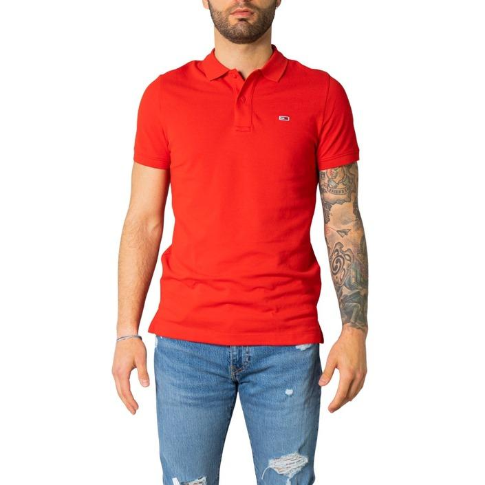 Tommy Hilfiger Jeans Men's Polo Shirt Red 243235 - red XS