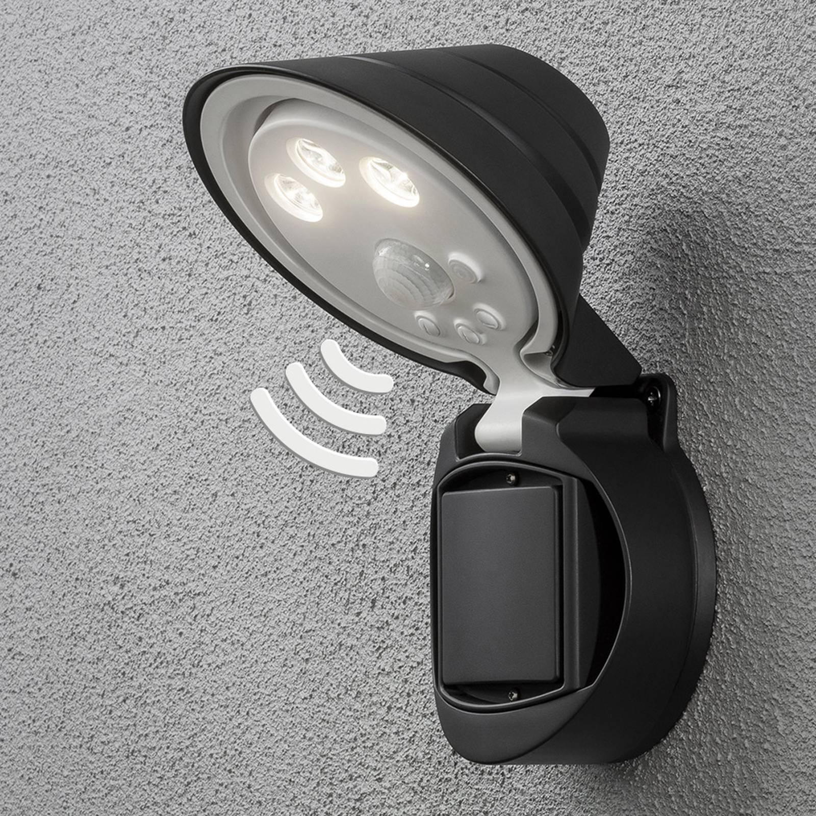 Paristokäyt. LED-ulkoseinävalaisin Prato, 16 cm