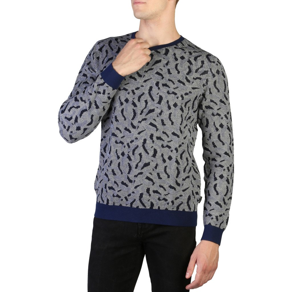 Calvin Klein Men's Sweater Blue K10K101153 - blue S