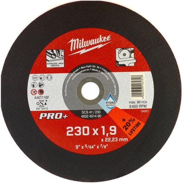 Milwaukee SCS 41 PRO+ Kappskive 230x1,9 mm