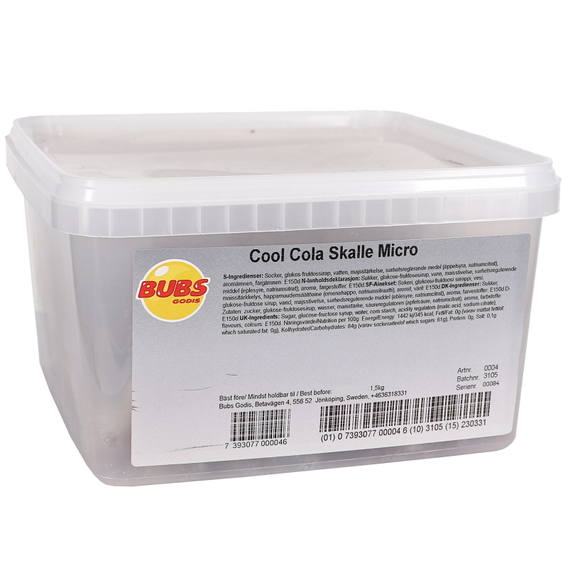 Godis Cool Cola Skalle Micro - 20% rabatt