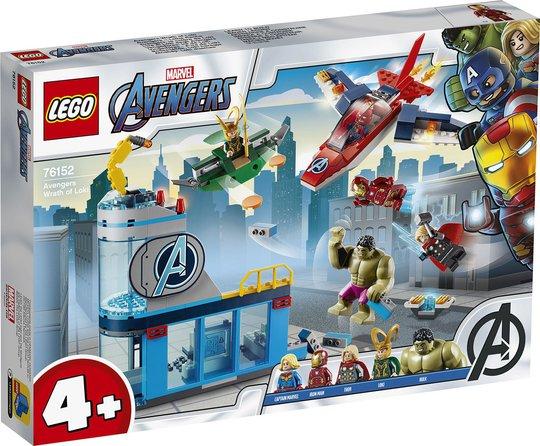 LEGO Super Heroes 76152 Avengers Lokis vrede