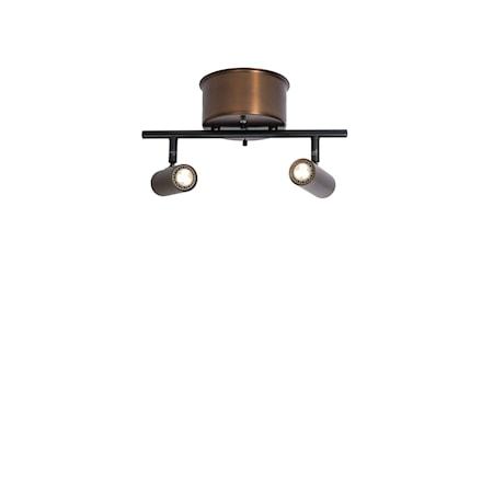 Cato Skena Oxid 2:a Dimbar LED 132 cm