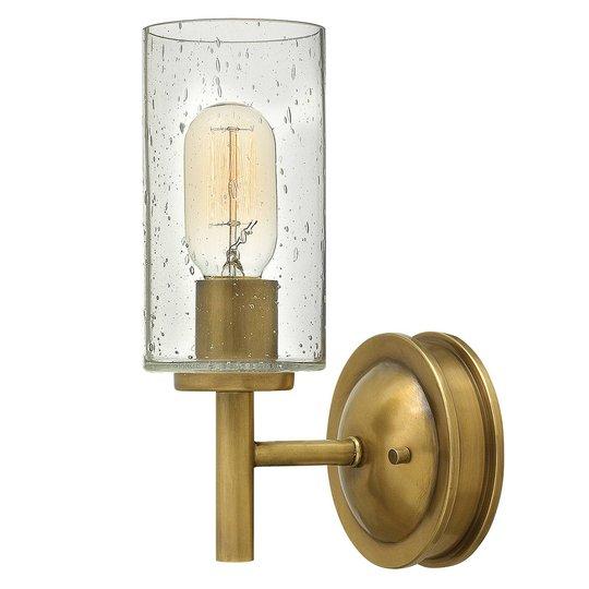 Vegglampe Collier i antikk utførelse