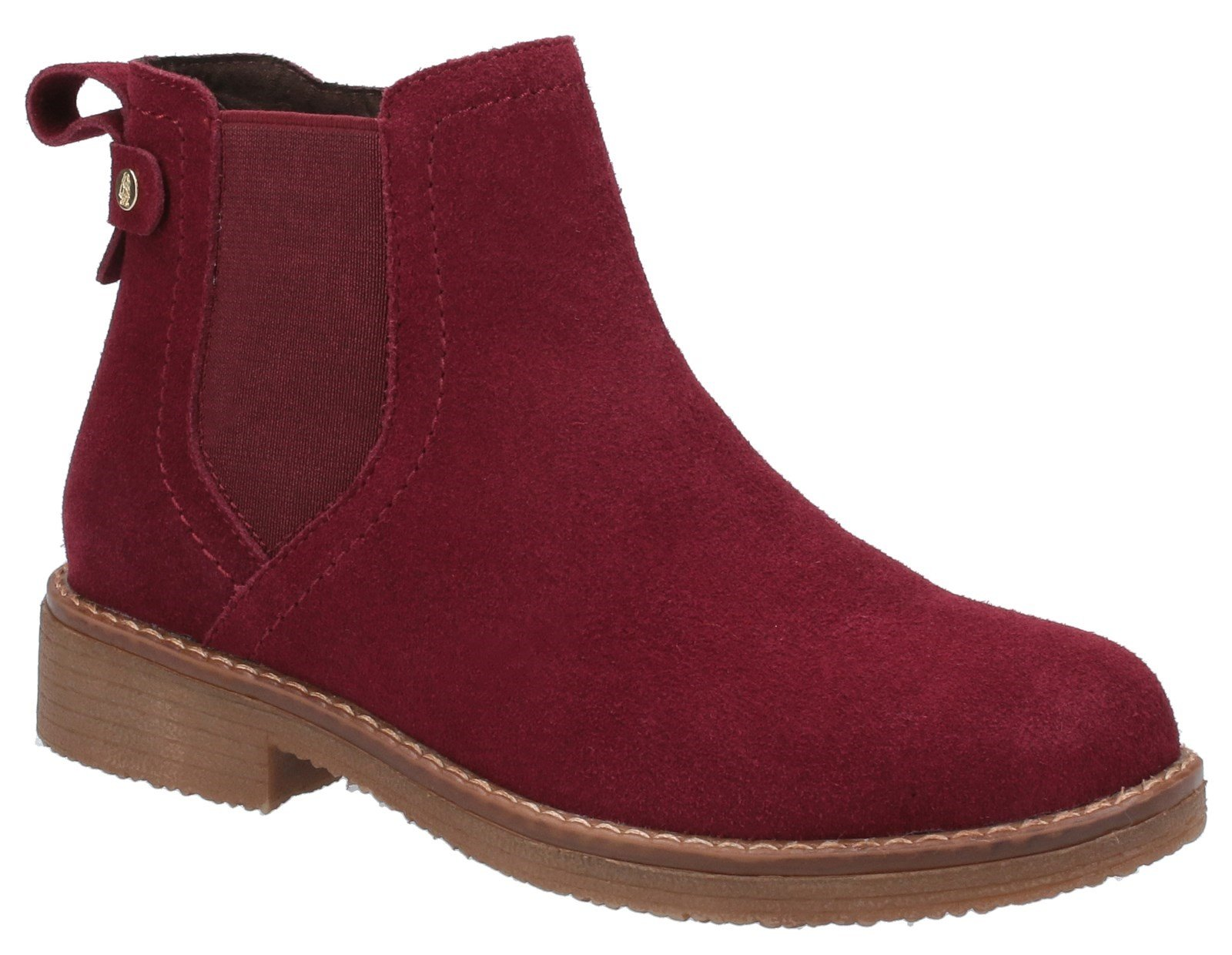 Hush Puppies Women's Maddy Ladies Ankle Boots Various Colours 31214 - Bordo 3